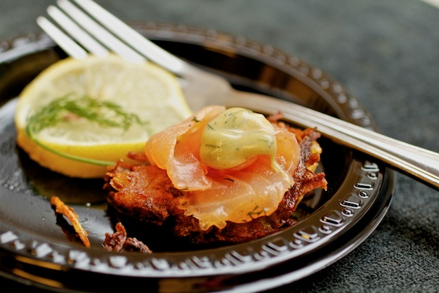 Sizzling Latkes and Gravlax with Chef Russell Moss in TriBeCa | Kosher ...