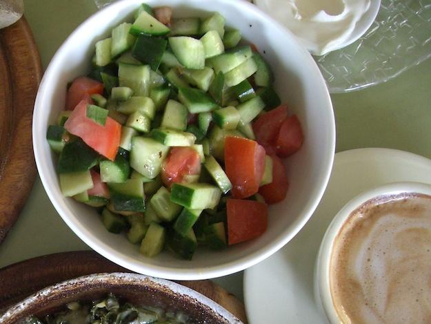 Chopped Salad Israeli Style