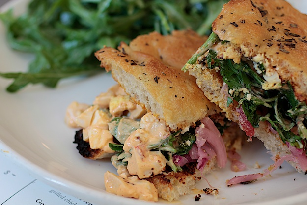 loved the Smoked Paprika Egg Salad sandwich, served on toasted ...