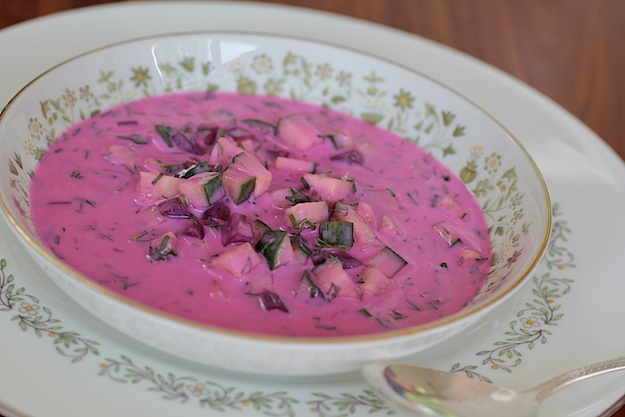 Cold Beet and Yogurt Soup
