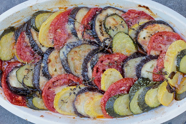 Late Summer Vegetable Gratin