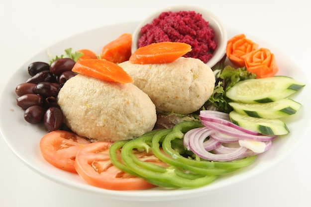 Gefilte Fish courtesy of 2nd Ave. Deli, NYC