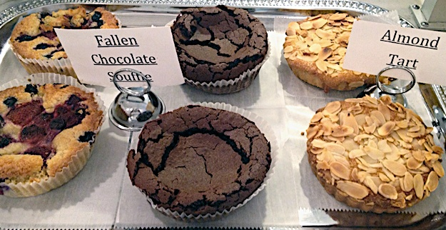 Fallen Chocolate Souffle
