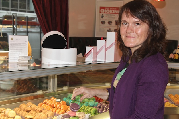 Cecile Cannone, owner and baker