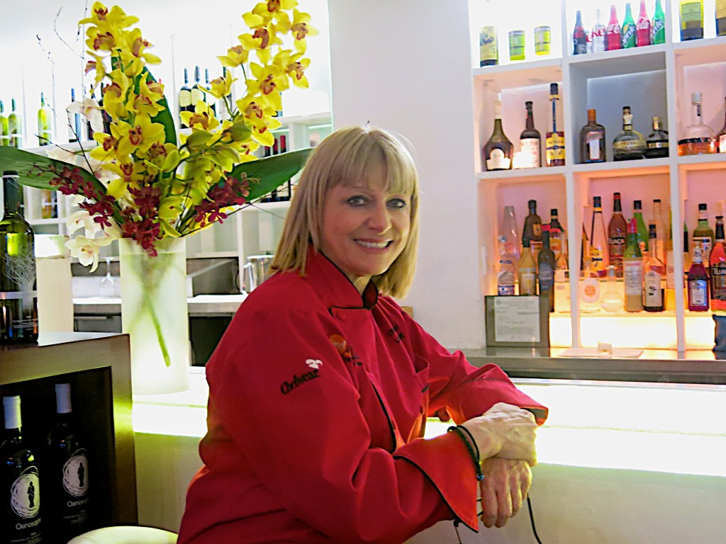 Maria Loi, owner and chef