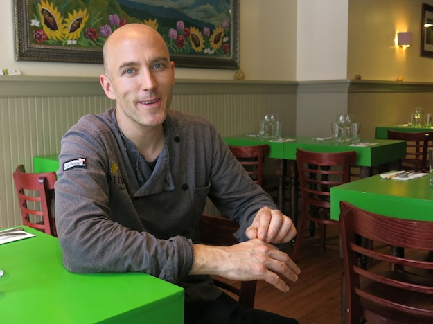 Chef Ken Larsen, Table Verte