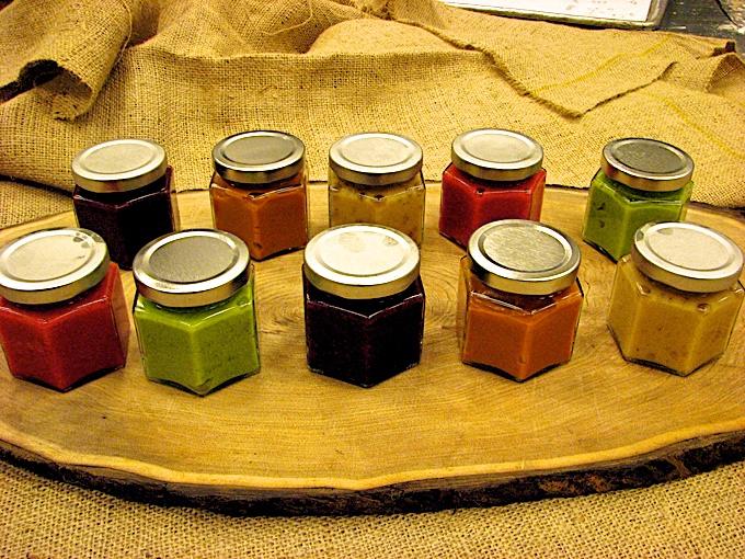Garden Fresh Baby jars