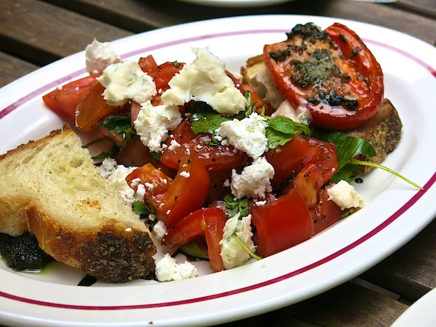 dinner- panzanella