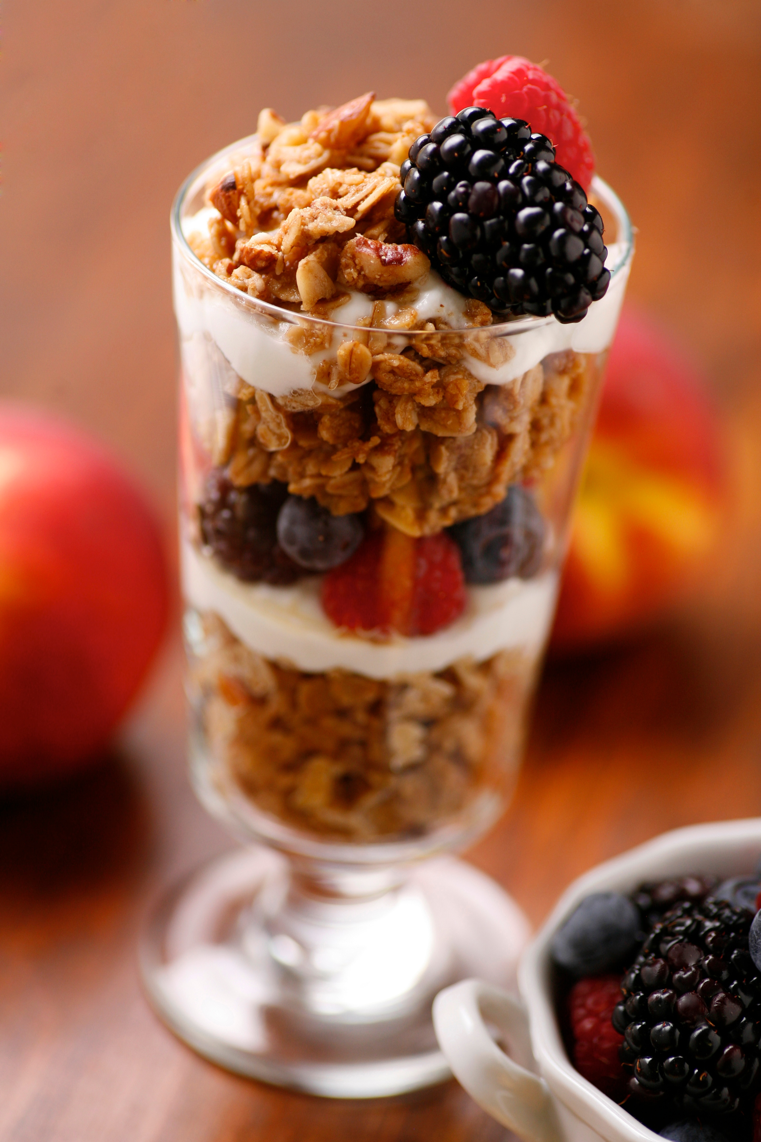 Jessica's Granola and Yogurt Parfait