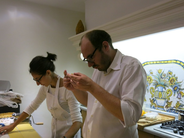 Slow Food Chefs: Eugenio Signoroni and Francesca Farkas