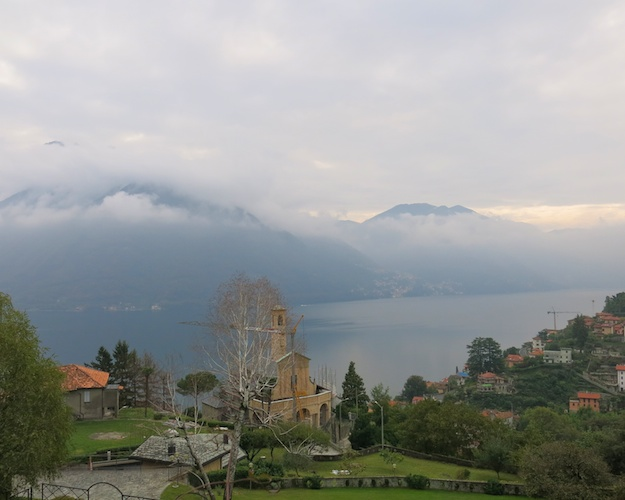 view from Villa Concetta