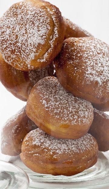 Paula Shoyer's Pumpkin Doughnuts