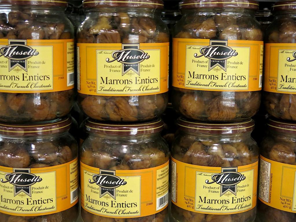 jarred chestnuts