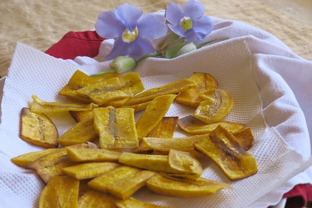 los plantanos fritos