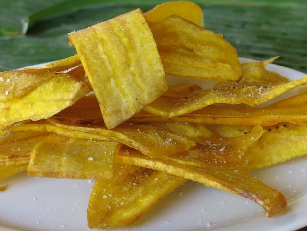 plantanos fritas