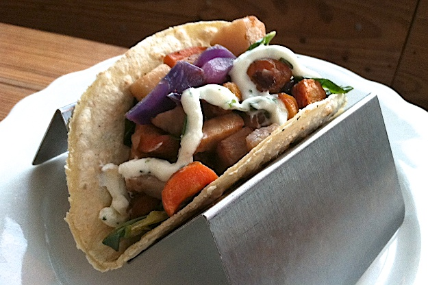 Winter Vegetable Tacos