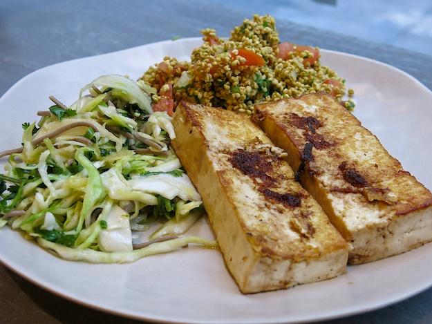 Little Beet- SW style Millet, Buckwheat sobas, tofu