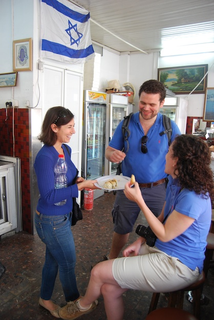 Inbal Baum (left), founder, Delicious Israel