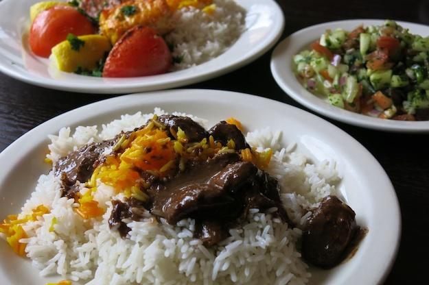 vegetarian Khoresh Fesenjan