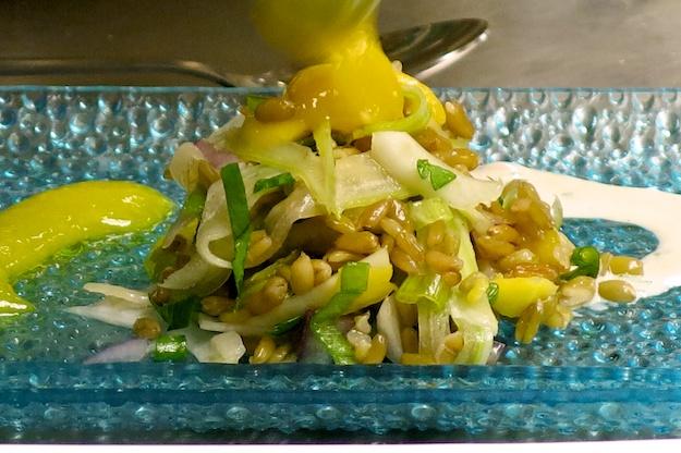 Mediterranean Freekah Salad