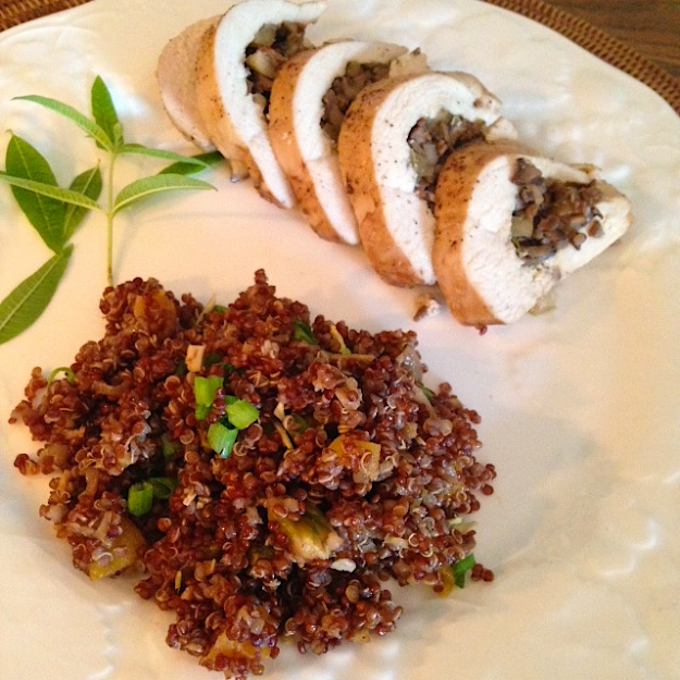 Chicken_Quinoa plate