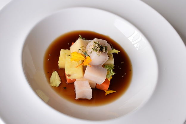 Tuna and Halibut Ceviche. photo: Natalie Woyshner. Recipe below.