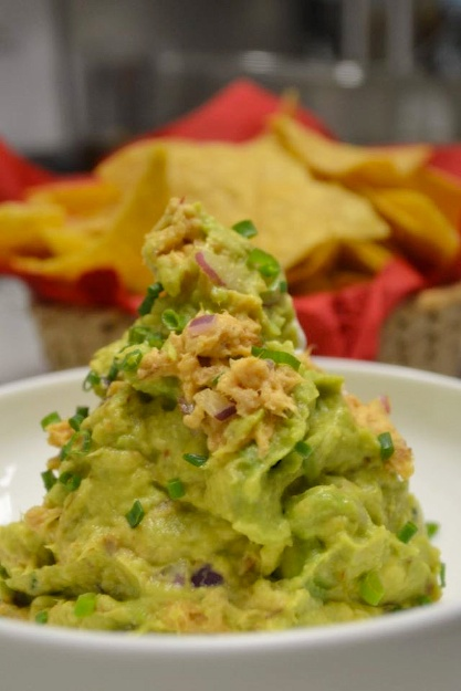 Whitefish guacamole- Chanukah menu 2014