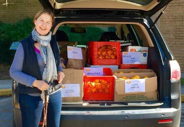 Isabelle Cossart, organic farmer