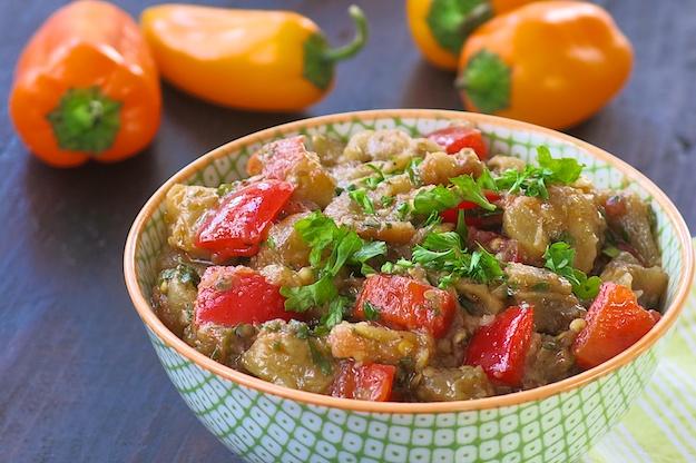 Moroccan Eggplant Salad
