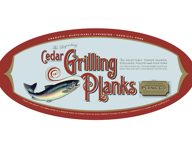 Cedar Planks for your Man at the Grill