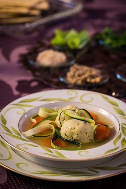 Chicken Soup-Hold the Matzah Balls