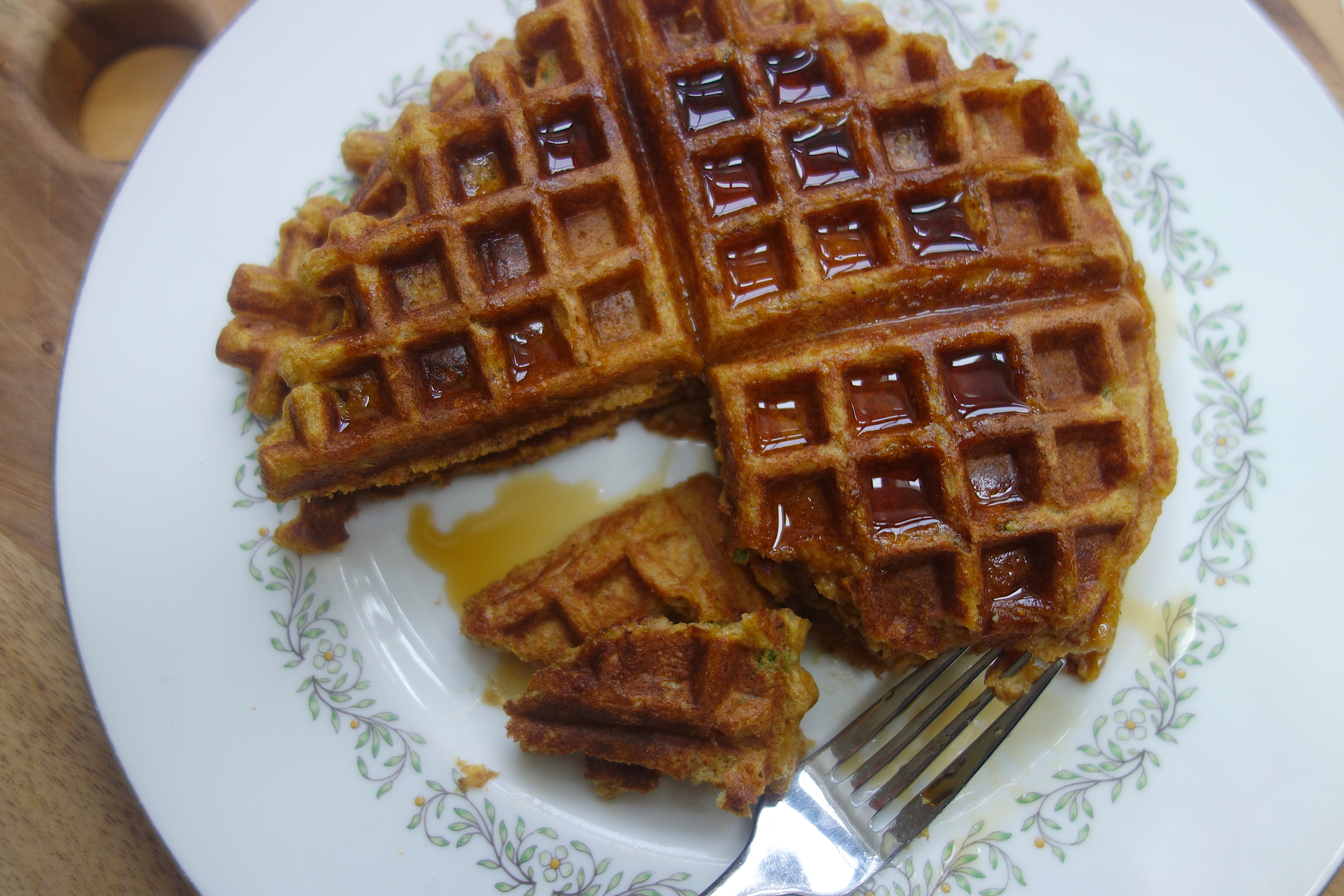 Roasted Butternut-Sage Waffles