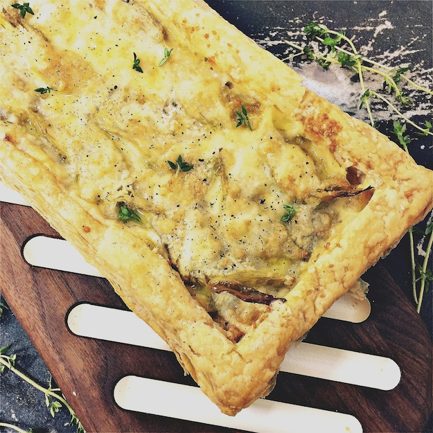 Fuss-free Artichoke Tart for a Quickie Dinner