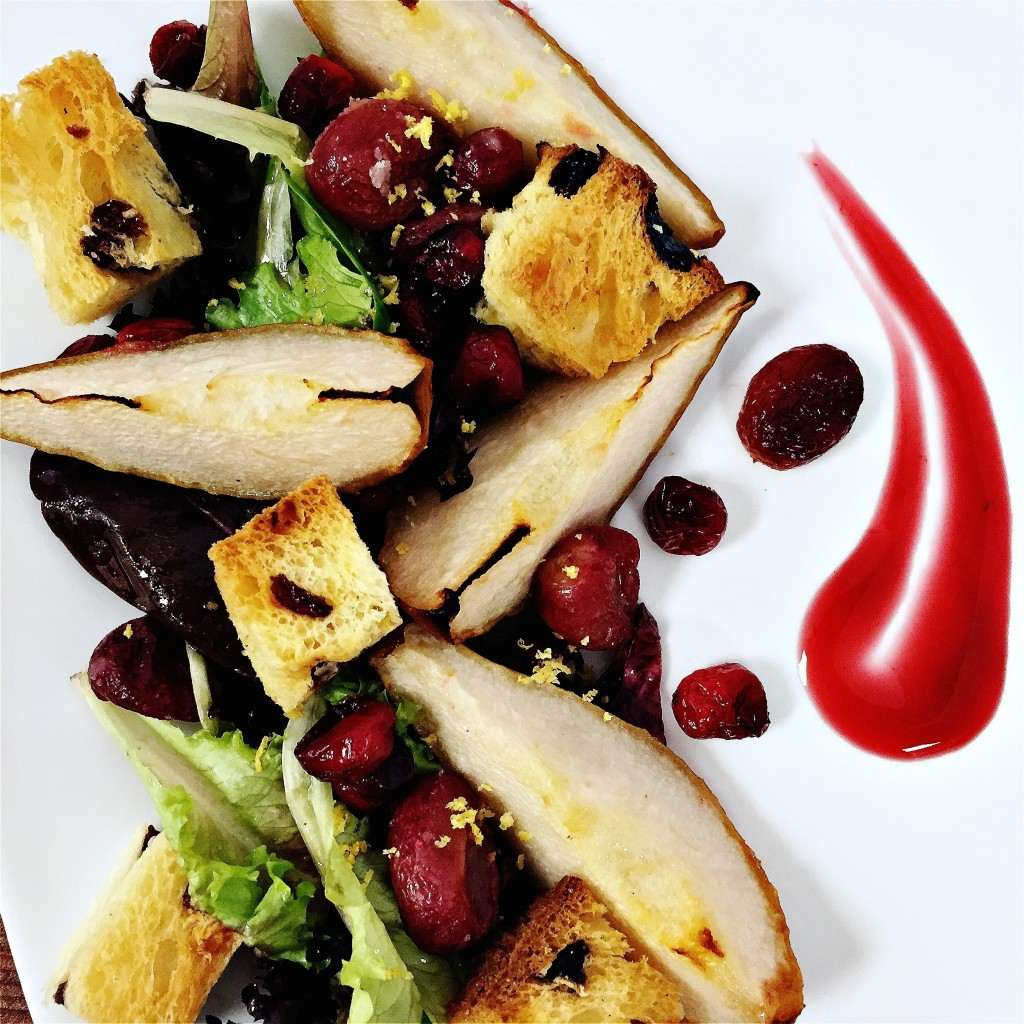 Roasted Fruit Sparks Winter Salads