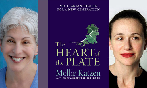 Cookbook Author, Mollie Katzen with Julia Moskin