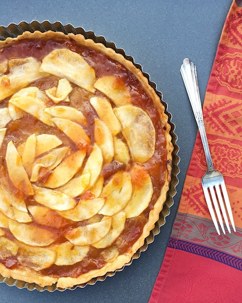 Celebrate Autumn with this French Apple Tart