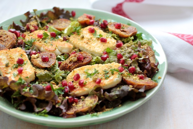 Winter Salad that Meets the Challenge