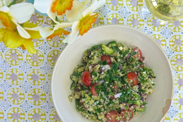 Spring into Celebrating Mom with Quinoa & Kale