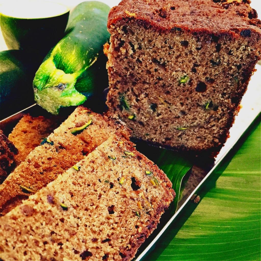 Easy Spiced Zucchini Bread