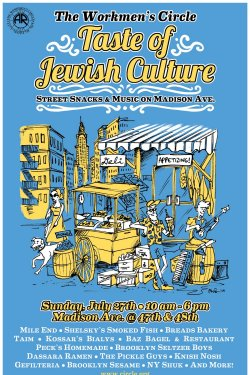 Taste of Jewish Culture- A NY Street Fair