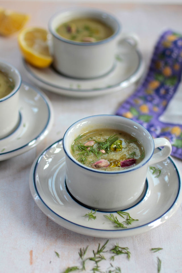 Celebrate Spring with this Creamy Asparagus Soup (Surprise! Its Vegan!)