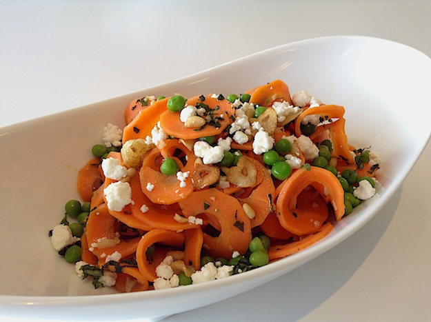 Carrot Tagliatelle Satisfies Your Pasta (ish) Urge