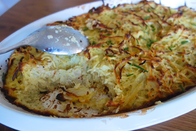 Solving the Frying Issue:  As Easy As Latke Gratin