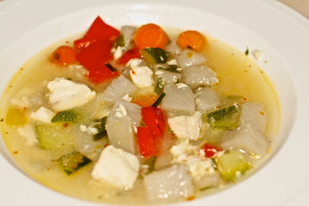 Simple Fish Soup from Canouan Island