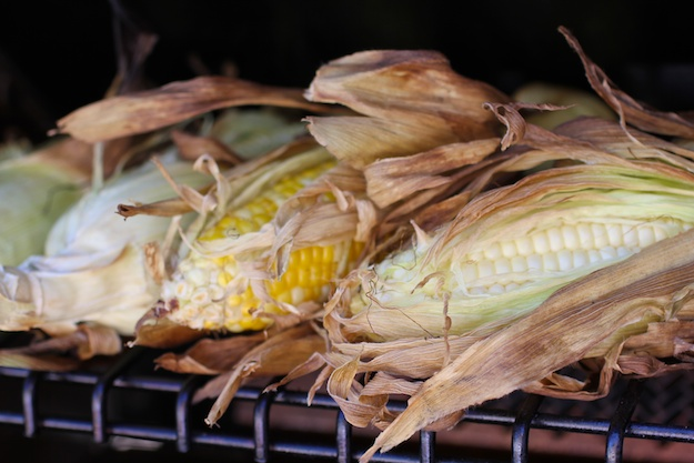 Grilled Summer Salad with Local Corn