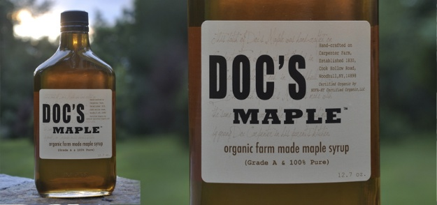 Doc's Organic Maple Syrup