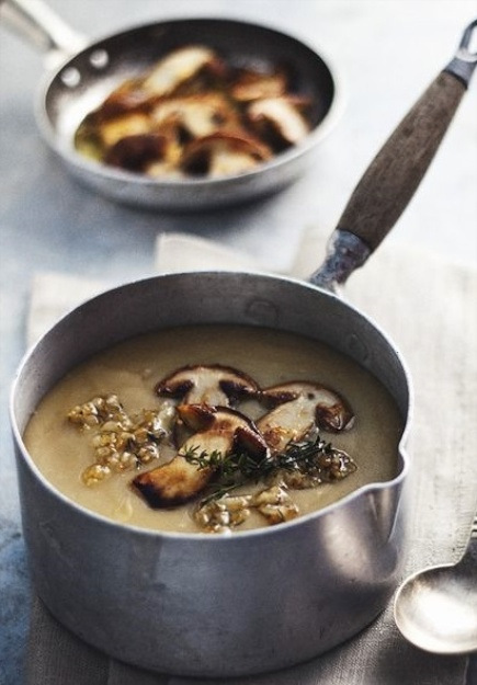 Oh- So Easy Mushroom Soup