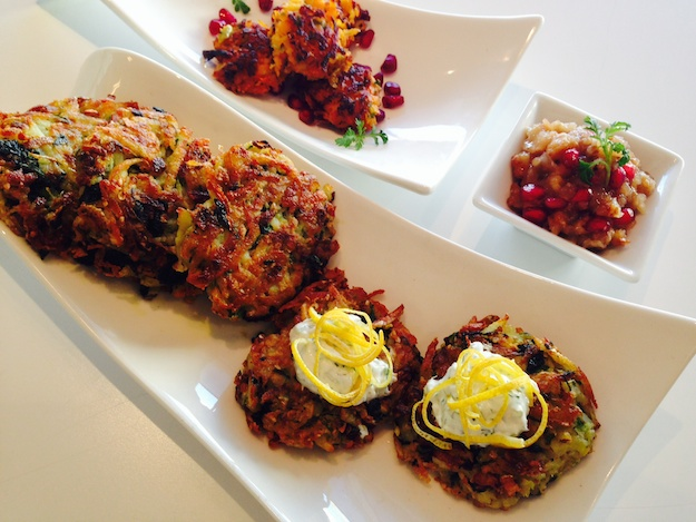 Sizzling Latke Variations for Chanukah