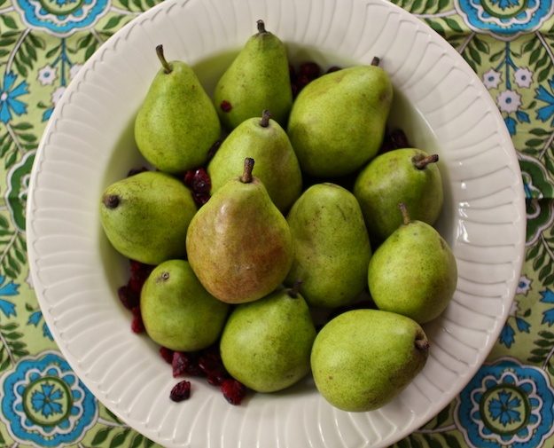 Poached Pears The Easy Way