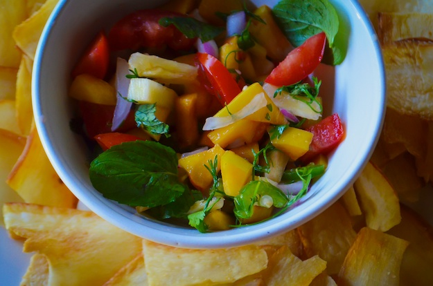 Seasonal Snippet: Summer Peaches plus Peachy Salsa Recipe